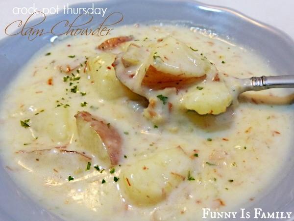 Crock Pot Thursday: Clam Chowder