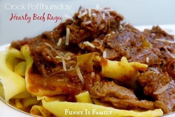 Crock Pot Thursday: Hearty Beef Ragu