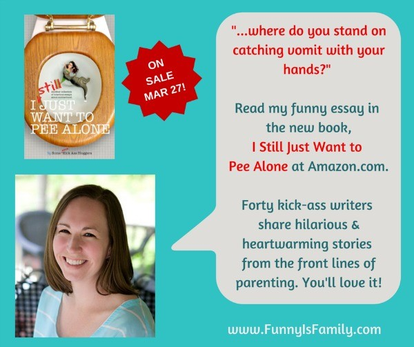 Amy Flory in I Still Just Want to Pee Alone, the follow-up to the New York Times Best Selling anthology, I Just Want to Pee Alone