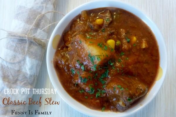 Crock Pot Thursday: Perfect Beef Stew