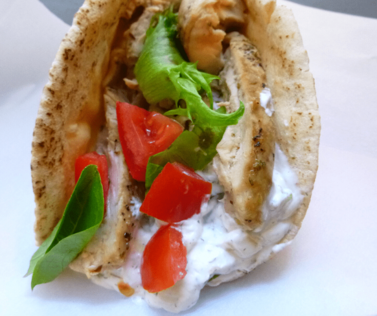 These Crockpot Chicken Gyros are a tasty and fun dinner idea the whole family will love!