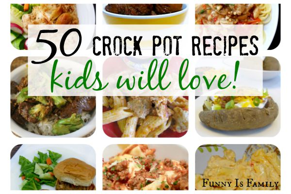 Make Back to School meal planning a breeze with these Crock Pot recipes your kids will love! Dinner ideas include: chicken, pasta, meatballs, wraps, pork, soups, tacos, sandwiches, beef, and even super easy baked potatoes! This is your one stop shop for easy, family-friendly slow cooker meal ideas.