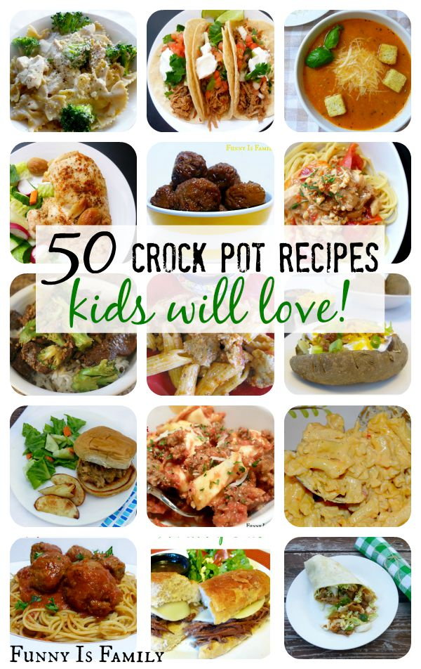 Crock Pot Recipes Kids Will Actually Eat!