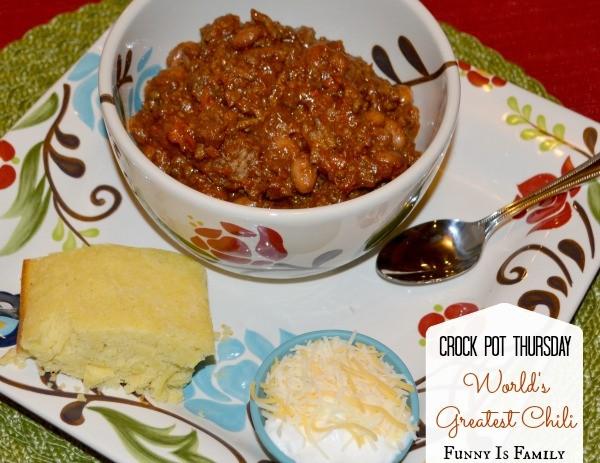 World S Greatest Crock Pot Chili