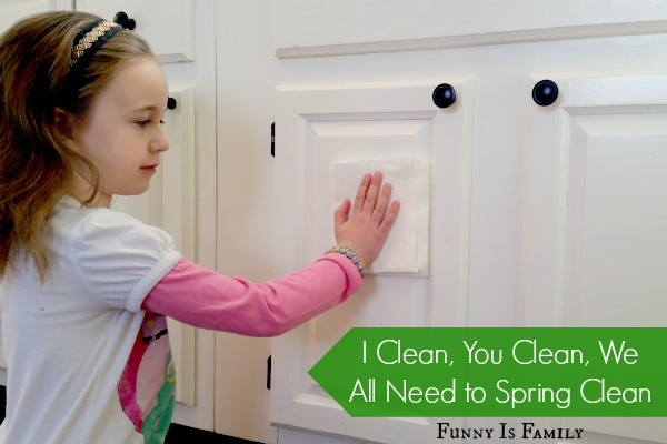 I Clean, You Clean, We All Need to Spring Clean