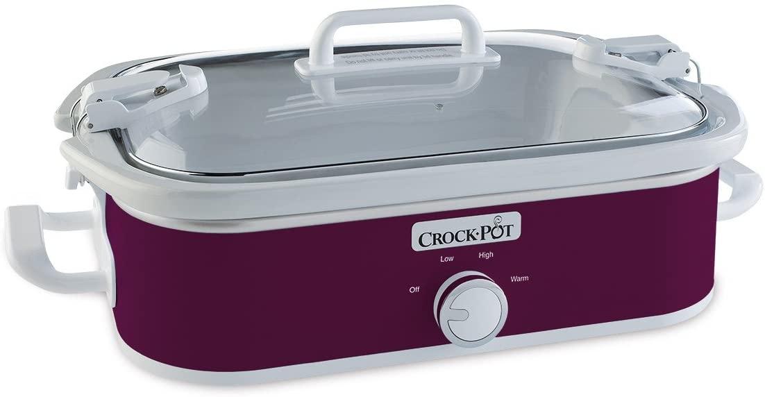 Crock-Pot 3.5-Quart Casserole Crock Manual Slow Cooker