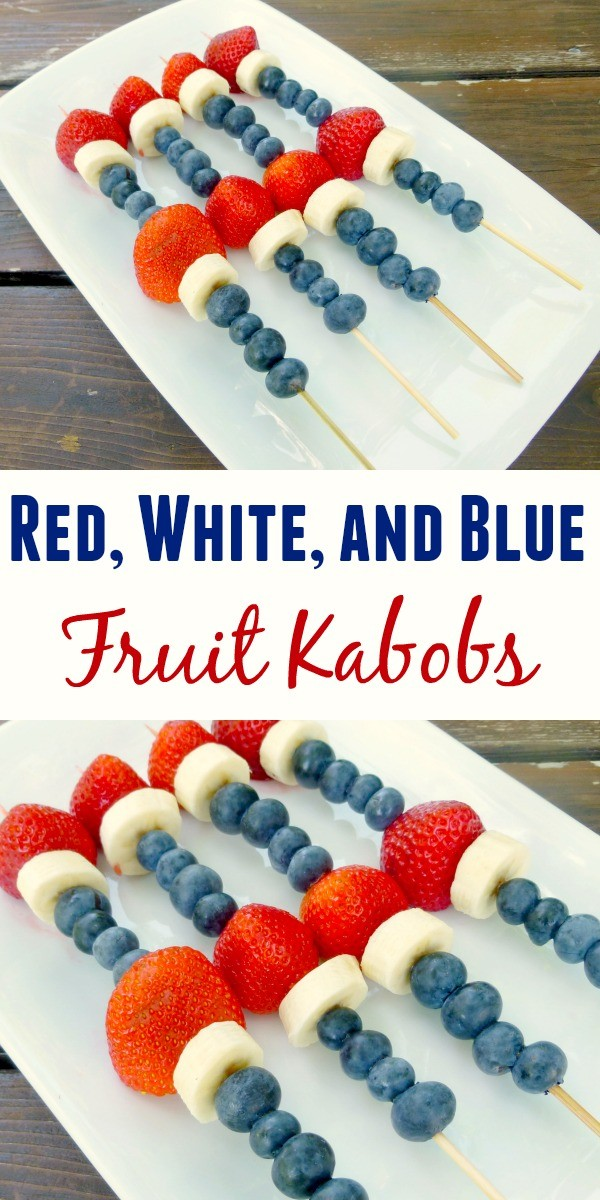 Healthy and fun 4th of July snacks that are super easy to make!
