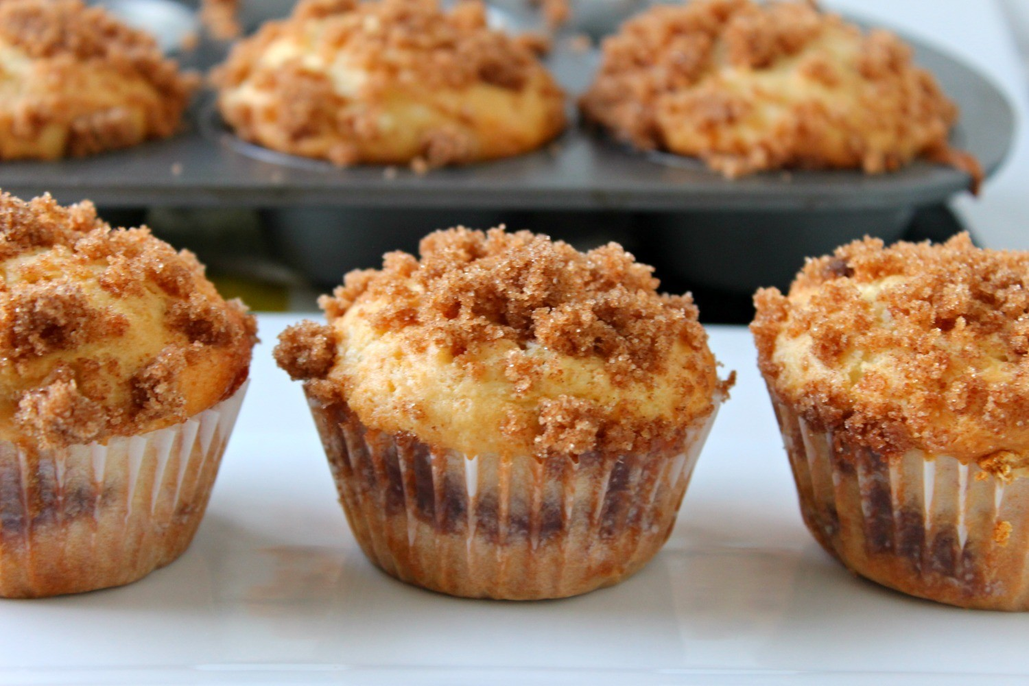 Coffee Cake Muffins - Funny Is Family