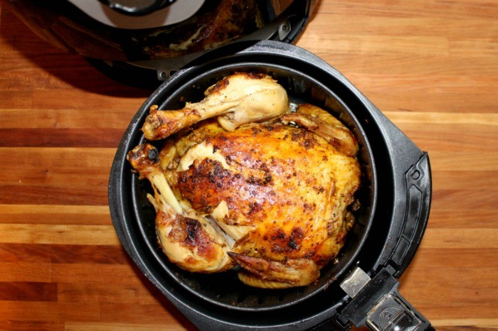 Air Fryer Whole Roasted Chicken - Funny Is Family-9505