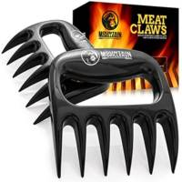 Bear Claws Meat Shredder for BBQ - Perfectly Shredded Meat, These Are The Meat Claws You Need - Best Pulled Pork Shredder Claw x 2 For Barbecue, Smoker, Grill (Black)