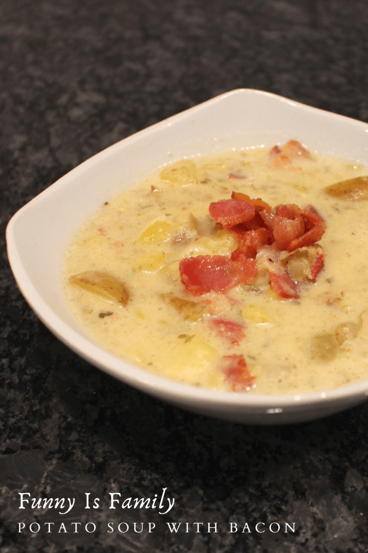This Potato Soup with Bacon is rich, creamy, and delicious!
