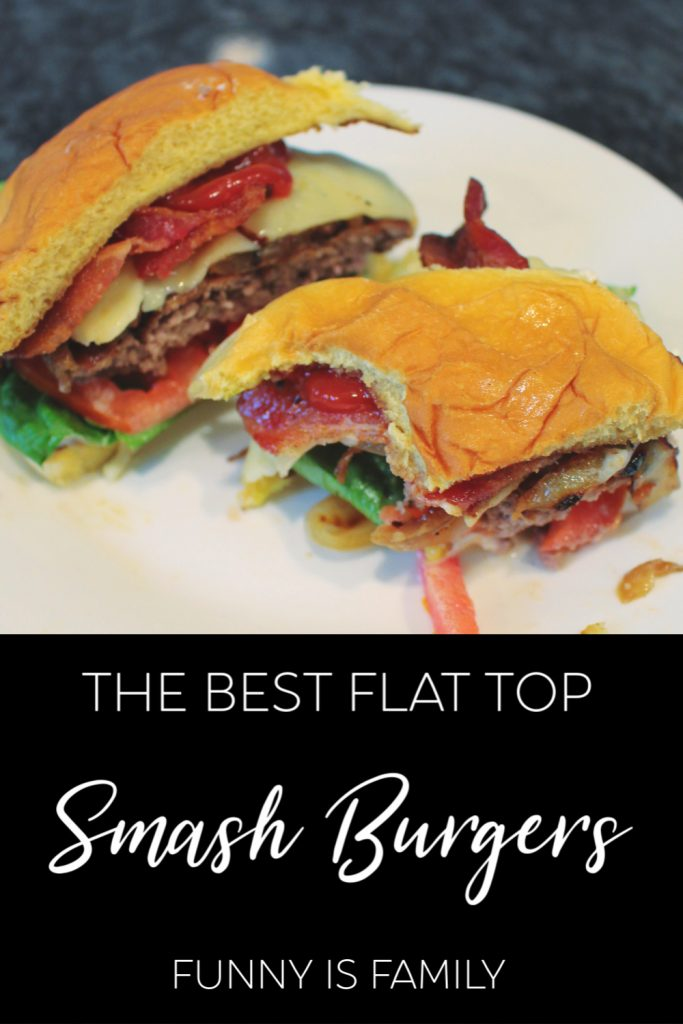 The Best Flat Top Smash Burgers with Grilled Onions