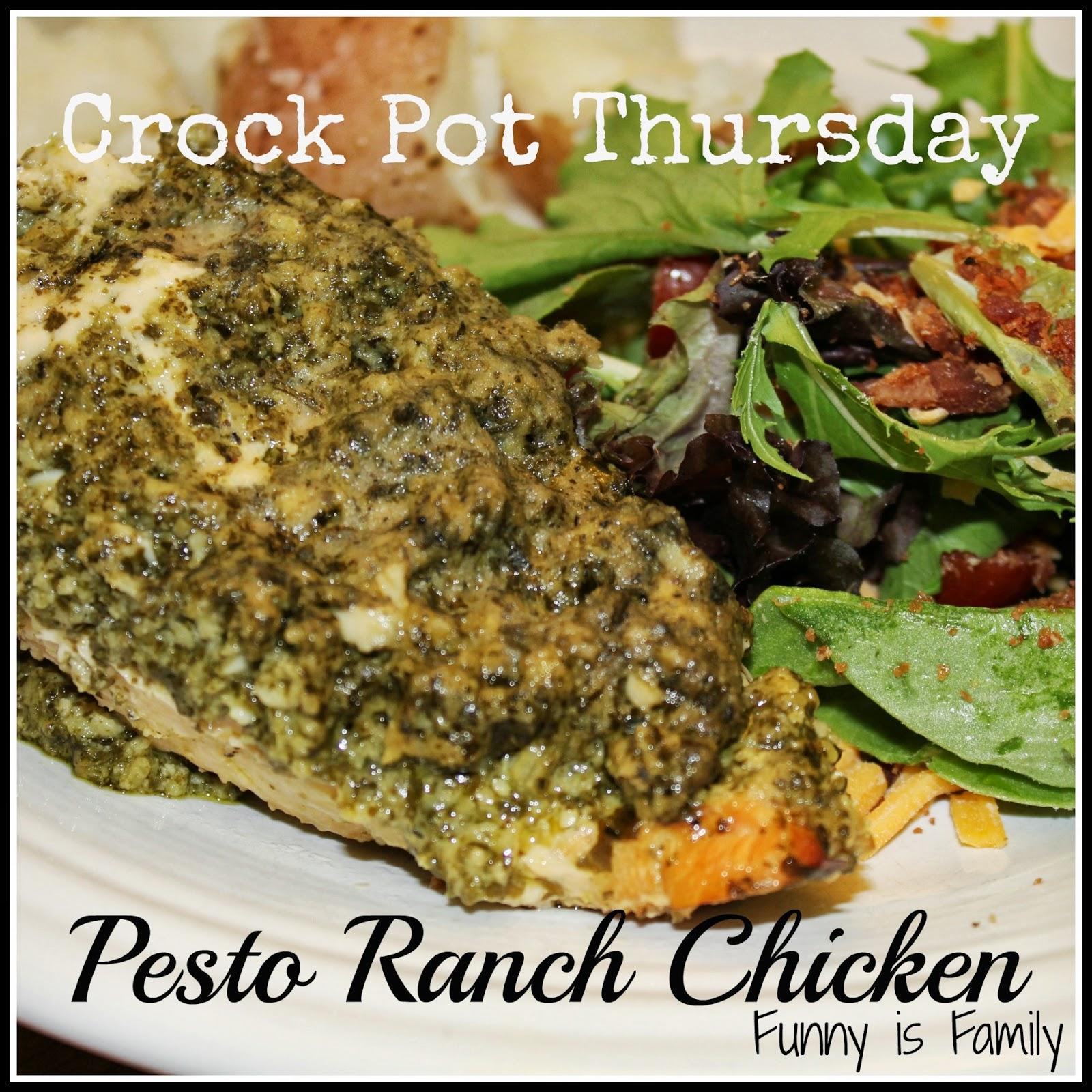 Pesto Ranch Chicken