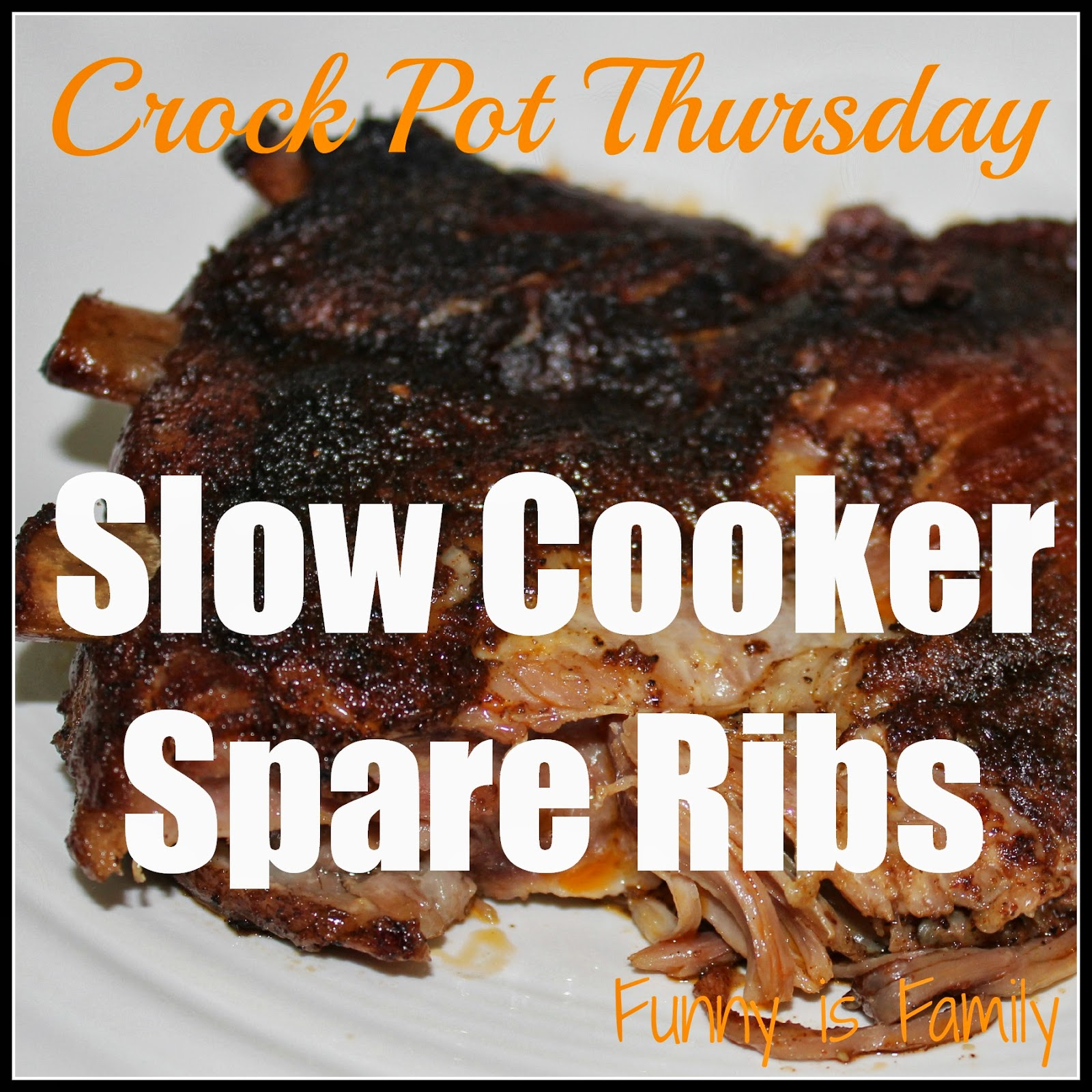 Crock Pot Thursday: Slow Cooker Spare Ribs
