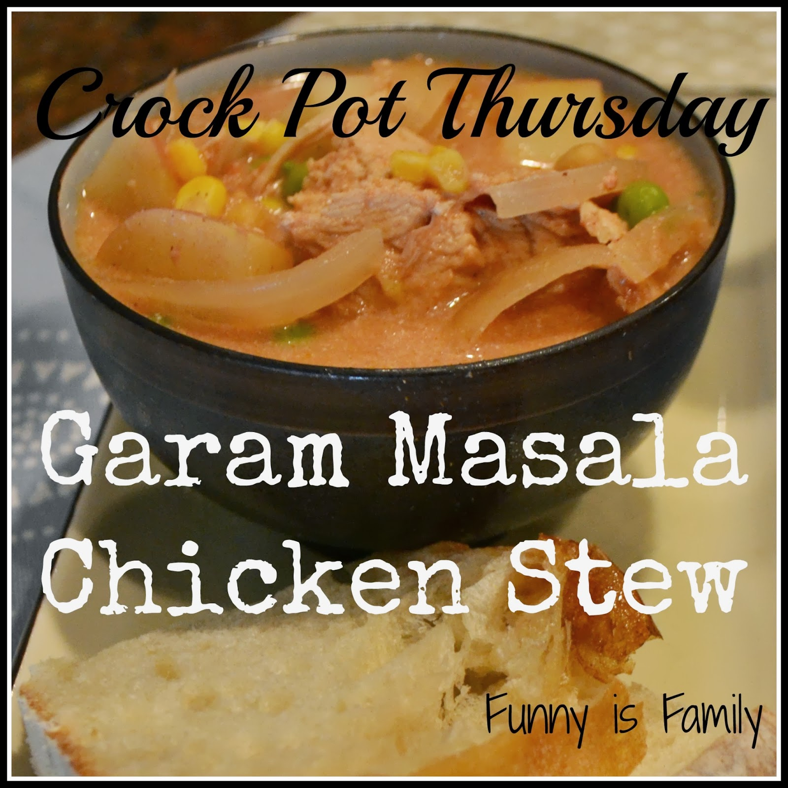 Garam Masala Chicken Stew