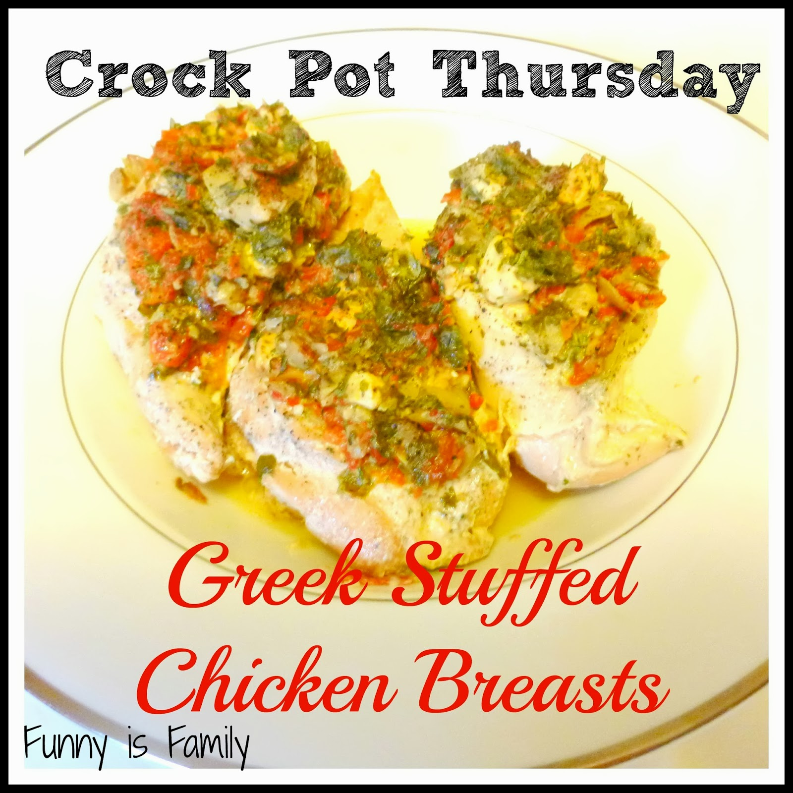 Greek Stuffed Chicken